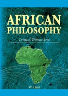 African Philosophy. Critical Dimensions