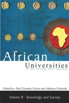 African Universities in the Twenty-First Century. Vol 2