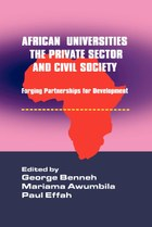 African Universities, The Private Sector and Civil Society