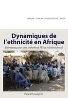 Dynamiques de l ethnicite en Afrique