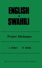 English Swahili Pocket Dictionary