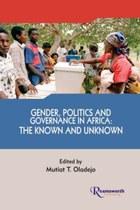 Gender Politics and Governance in Africa