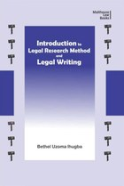 Introduction to Legal Research Method and Legal Writing