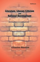 Literature, Literary Criticism and National Development