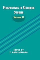 Perspectives in Religious Studies: Volume II