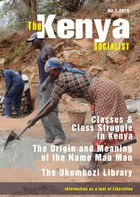 The Kenya Socialist