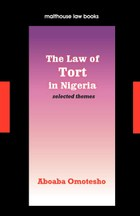 The Law of Tort in Nigeria
