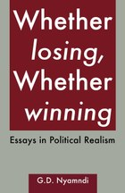 Whether Losing, Whether Winning